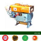 Solo motor refrigerado por agua del cilindro Zs195
