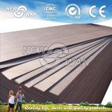 Fabriek-natuurlijk Zwart Triplex 2150X720mm/820mm/920mm van de Huid van de Deur van de Okkernoot Buitensporig