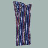 新しい色彩縞のシフォンはスカーフのタイを押しつぶした