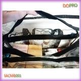 PRO caisse de train claire de maquillage de sac cosmétique de grande taille de PVC (SACMB001)