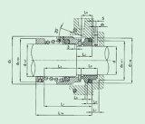 Selo mecânico padrão para a indústria química (HB7)
