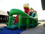 Diapositivas inflables del colmo de la diapositiva inflable de la diversión