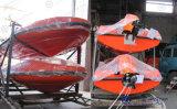 De de mariene Snelle Opblaasbare Boot van de Redding/Reddingsboot van de Redding met het Systeem van de Kraanbalk