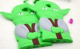 Samsung G530 (XSY-026)のための緑のWeirdocのシリコーンの漫画の電話箱