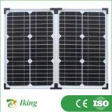 Складная панель солнечных батарей с рамкой сплава