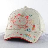 編まれたファブリックネオンカラー子供の子供の赤ん坊の帽子