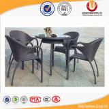 El vector y la silla al aire libre comprables de cena de la rota fijaron (UL-582)