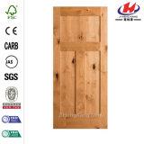 Tannen-Kiefer-Erle Prehung Tür mit Rahmen-Pfosten