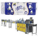 Machine de presse de papier de rouleau de papier hygiénique de machine à emballer de papier de rouleau de papier hygiénique