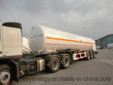 China 2015 LNG Lox Tank Car Semi Trailer com ASME GB