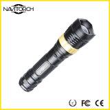 Lanterna elétrica recarregável impermeável durável do diodo emissor de luz da liga de alumínio (NK-2668)