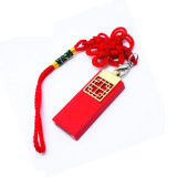 Os presentes frescos novos a movimentação chinesa do flash do USB do vermelho
