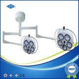 LED 전구 (YD02-5+5)를 가진 천장에 의하여 거치되는 외과 램프