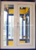 Guichet en aluminium de charnière (voies extérieures ou intérieures d'ouverture)