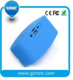 Mini altavoz sin hilos portable de Bluetooth con la tarjeta del TF