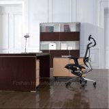 Moderno Escritorio de Oficina Negro de Roble de Madera Muebles para Oficina (HF-SID001)