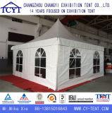 Tente simple extérieure de pagoda d'exposition blanche