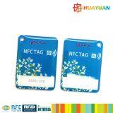 Gerencia MIFARE 1K clásico RFID de epoxy Keytag Keyfob de la lealtad