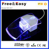 Neues Colorful 2.4G Crystal Wireless Arrows Computer Mouse
