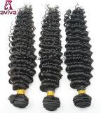 Tiefe Wellen-brasilianische natürliche Jungfrau-Haar-Extension