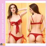 クリスマスの赤Sexy Lingerie EUおよび私達のための3ポイント様式の女性セクシーな女性