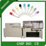 Macchina imballatrice dello Shrink automatico di calore di disegno per il tubo dell'analisi del sangue