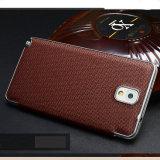 Grade élevé Luxury Leather Phone Cas pour le téléphone cellulaire de Samsung Galaxy Note 3
