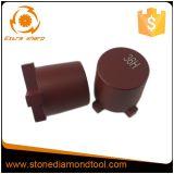 4 Segmente Terrco konkreter abschleifender Diamant-reibender Stecker