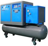 Ce 7.5kw одобрил совмещенный баком сразу управляемый компрессор винта с сушильщиком воздуха