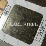 Feuille de relief laminée à froid d'acier inoxydable