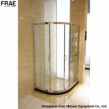 يليّن زجاجيّة غرفة حمّام [شوور سكرين] وابل مقصور وابل صندوق [شوور رووم] بسيطة مع رصيف صخري