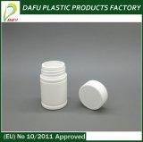Бутылка пилюльки круглой формы HDPE пластичная