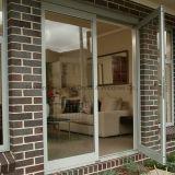 Porte en verre de porte en aluminium de ventes directes d'usine (FT-D70)