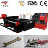 Металл автозапчастей ткани CNC обрабатывая оборудование гравировки вырезывания