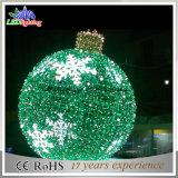 휴일 중국에 있는 가벼운 옥외 크리스마스 가로등 훈장 공 빛 도매