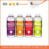 De nieuwste Sticker van de Fles van het Vruchtesap van de Sticker van de Fles van de Drank van het Document pvc