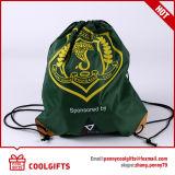 広告および昇進のギフトのための環境に優しいスポーツのシルクスクリーンのドローストリング袋