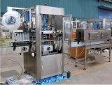 Automatische Shrink-Hülsen-Maschine für die Flaschen-Kennzeichnung