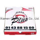 Travamento de canto da caixa da pizza do cartão para a dureza (PB160616)