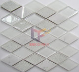 灰色およびWhite Color Mixed Marble Stone Crystal Mosaic (CS251)