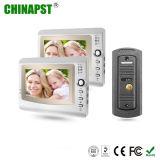 Intercom de câble de téléphone de porte pour les systèmes de sécurité à la maison (PST-VD973C)