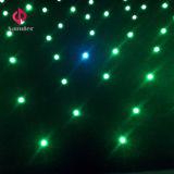 RGB 3 in 1 van de Fonkelende Door sterren verlicht LEIDENE van de Kleur Gordijn Doek van de Ster voor Gebeurtenis tonen
