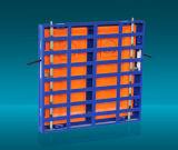 Более сильная арендная алюминиевая индикация СИД шкафа P3 крытая
