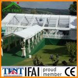 結婚披露宴の装飾の透過屋根および壁テントのおおい