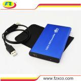 USB2.0 cerco azul do External SATA 2.5 HDD
