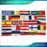 drapeau des syndicats d'UE l'Europe de 100X150cm par Screen Printing (NF05F03011)