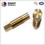 中国の工場はCNCの精密機械化の真鍮の付属品か高品質を真鍮の圧縮の管付属品作った