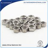 Ss304, noix Hex de l'acier inoxydable 316 A2-70