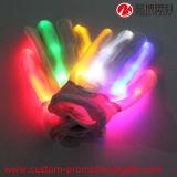 LED 장갑을 바꾸는 나일론 물자 Halloween 당 제품 색깔