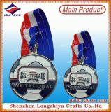 Deportes de encargo de la medalla de la concesión de la medalla de la alta calidad para los regalos conmemorativos